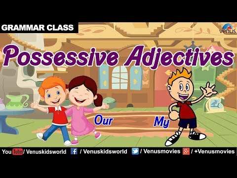 Possessive Adjectives ~ Grammar Class