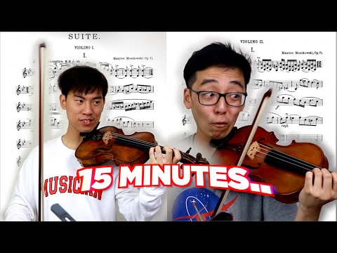 Learning A Difficult Duet In Just 15 Minutes ... (with UNEXPECTED Results!?)