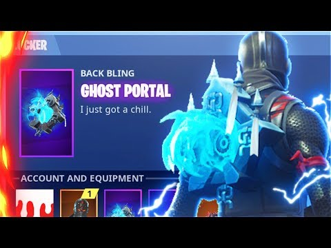 Secret SEASON 6 GHOST PORTAL Back Bling Gameplay! New EVIL SKINS Leaked! (Fortnite Battle Royale)