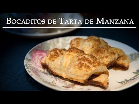 Bocaditos de Tarta de Manzana o Apple Pie Bites