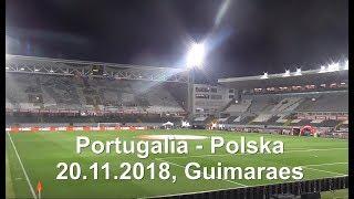 20.11.2018. Liga Narodów. Portugalia - Polska 1:1. Polski sektor