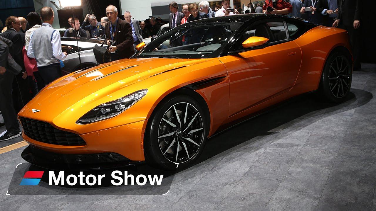 Aston Martin DB11 vs McLaren 570GT – 2016 Geneva Motor Show - YouTube