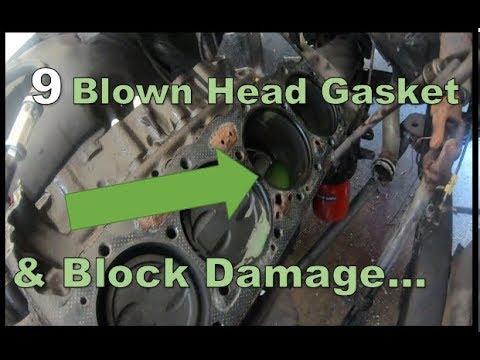 Chevy 350 Blown Head Gasket and Damaged Block.... ('65 Wagoneer Blog #9)