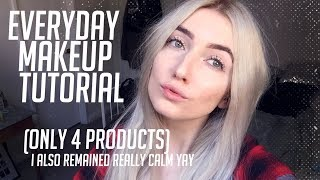 MY NATURAL MAKEUP LOOK - ONLY 4 PRODUCTS!