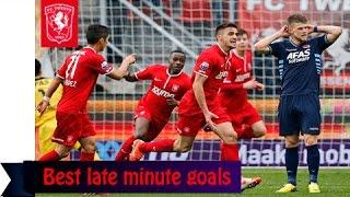 Best late minute goals   FC Twente // HD