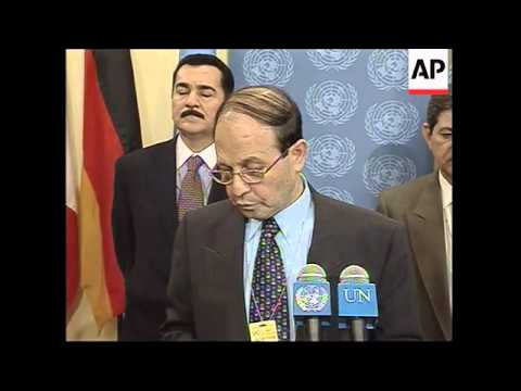 Iraq's UN ambassador denounces US ultimatum