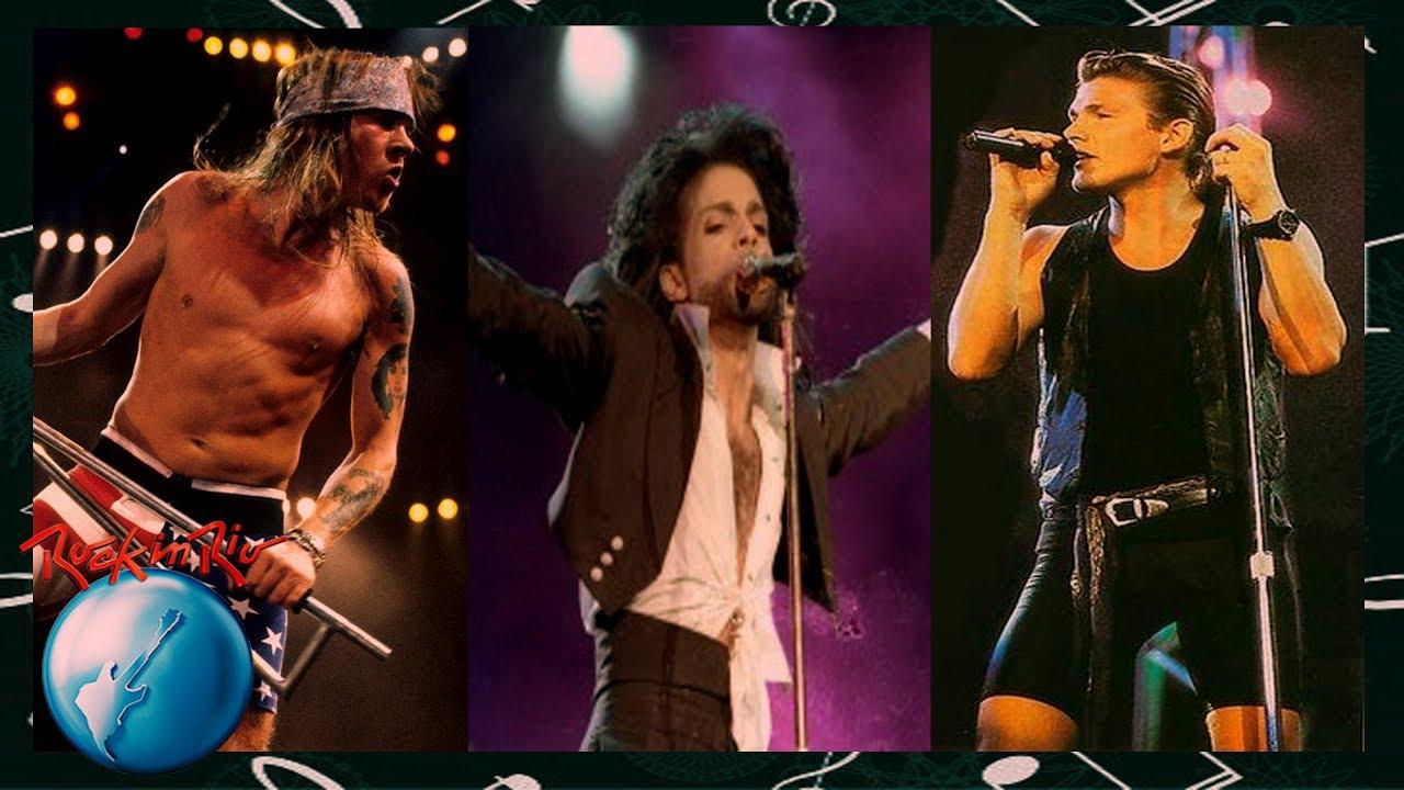 ROCK IN RIO 1991: TOP 20 Artistas da 2ª Edição do Festival - YouTube