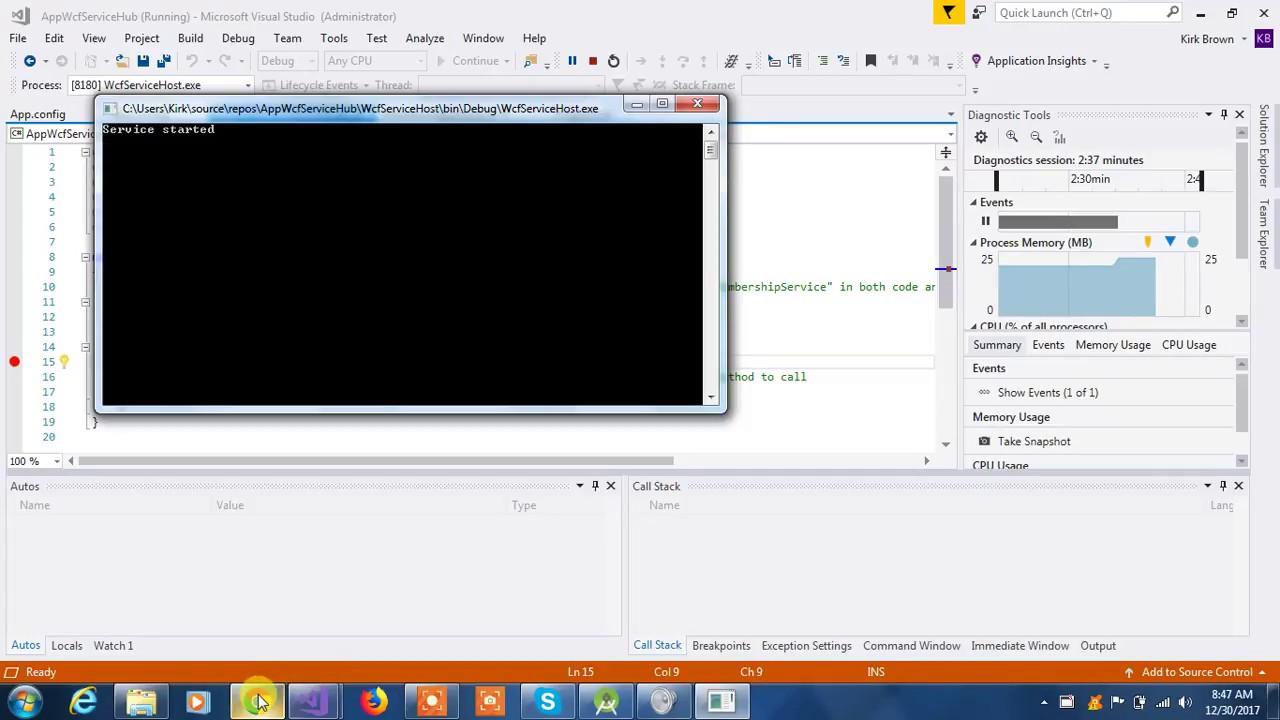 Hosting wcf service in was simplified wcf tutorial.