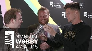 Havas New York's 5-Word Speech at the 21st Annual Webby Awards.