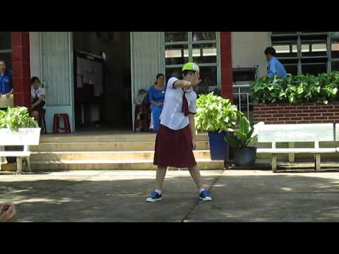 Nhảy hiện đại - khai giảng 5/9/2013 trường THPT chuyên Hùng Vương tỉnh Bình Dương