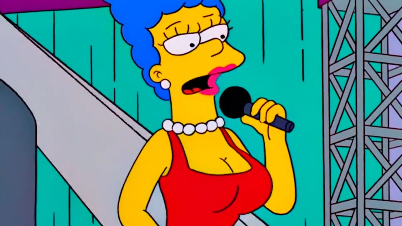 Marge simpson is naked and pregnant #4