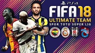 Türkiye´nin En İyileri !!! ★ SPORTOTO SÜPERLIG STARS | FIFA 18 Ultimate Team | PS4