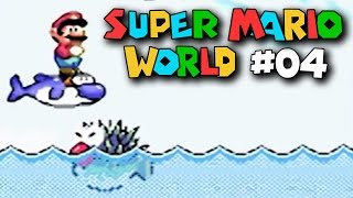 Beware The Giant Spiky Fish! -- Super Mario World (Let's Play #4)