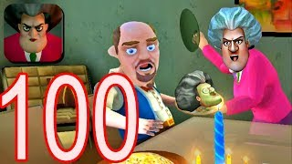 Scary Teacher 3D - Gameplay Walkthrough Part 100 - New Chapter New Levels (Android/iOS)