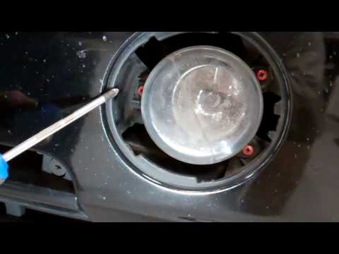 How to replace the front fog lamps on a Range Rover L322 2006-2009
