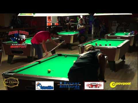 FINALS •Chris FIELDS vs Gail EATON •� Junior Norris Womens 9 Ball