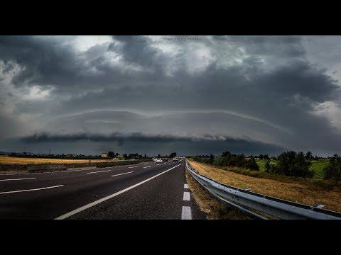 Shelf Cloud along the A-14 | 2K Timelapse