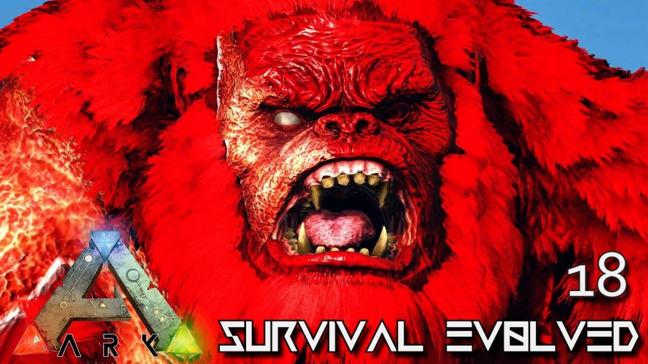 ARK: SURVIVAL EVOLVED - NEW PRIMEVAL MEGAPITHECUS TAME