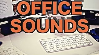 4 Hours of Ambient Office Sounds |  Background Noise for Relaxation