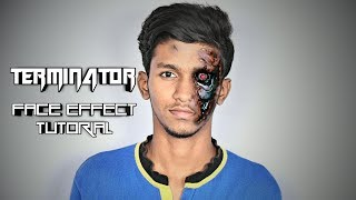 HOW TO MAKE TERMINATOR FACE EFFECT   PICSART EDITING TUTORIAL   BY ARIF ZAYN