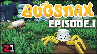 Part Bug, Part Snack, DELICIOUS! Exploring the World of Bugsnax ! Bugsnax Episode 1 | Z1 Gaming