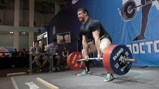 Russian Powerlifting Nationals - 2015. 120 kg. Leaders.