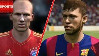 Europe BEST XI vs. South America BEST XI [CRAZY Robben Goal & Celebration]