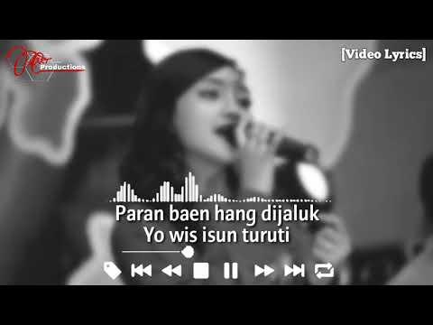 Jihan Audy - Ngomong Apik Apik [Video Lyrics]