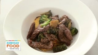Stir-fried Beef With Garlic And Rosemary - Everyday Food With Sarah Carey