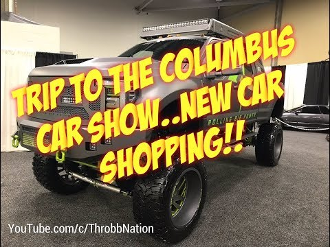 Trip To The Columbus Auto Show..Time For A New Car!