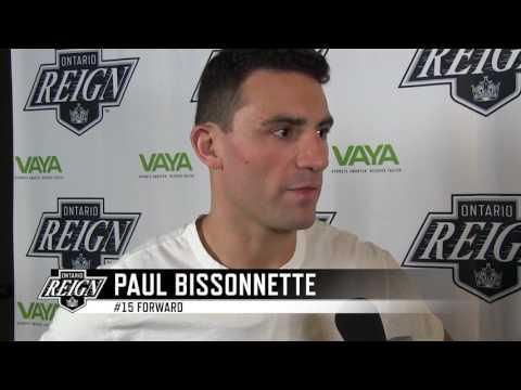 2017 Ontario Reign Exit Interview - Paul Bissonnette