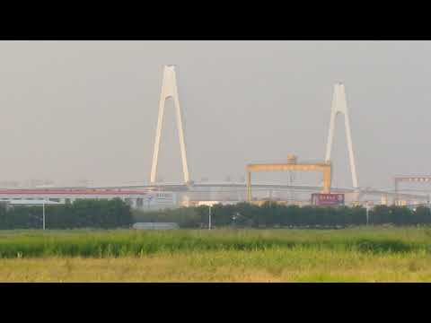 Near Yingkou port Liaoning China