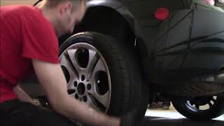 Wheel Spacers /Adapters Installation Process and thoughts - Detailed on BMW Z4