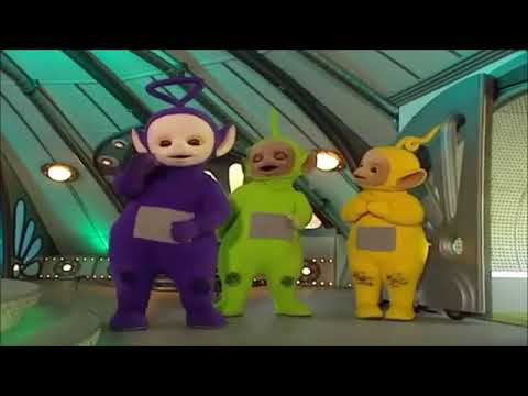 """Tinky Winky Says, """"Eh Oh"""" 40 Times"""