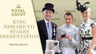 Royal Ascot 2017 | Holly Willoughby and Phillip Schofield present King Edward VII Stakes trophy