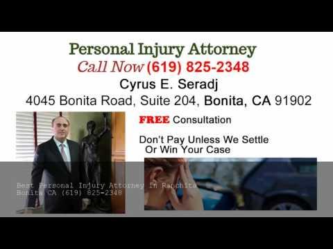 Car Accident Attorney Ranchita - (619) 825-2348