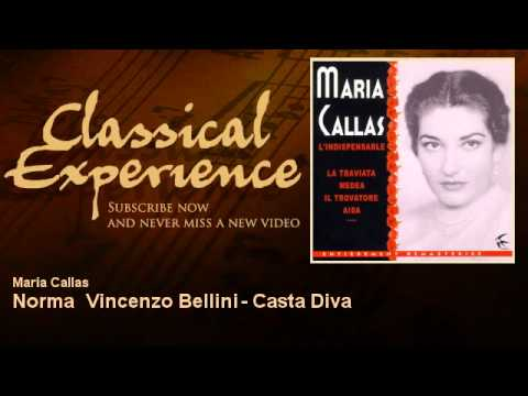 Maria callas norma vincenzo bellini casta diva classicalexperience youtube - Norma casta diva bellini ...