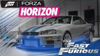 Forza Horizon - Ep.#16 - R.I.P Paul Walker The Fast And The Furious: Brians Skyline Tutorial