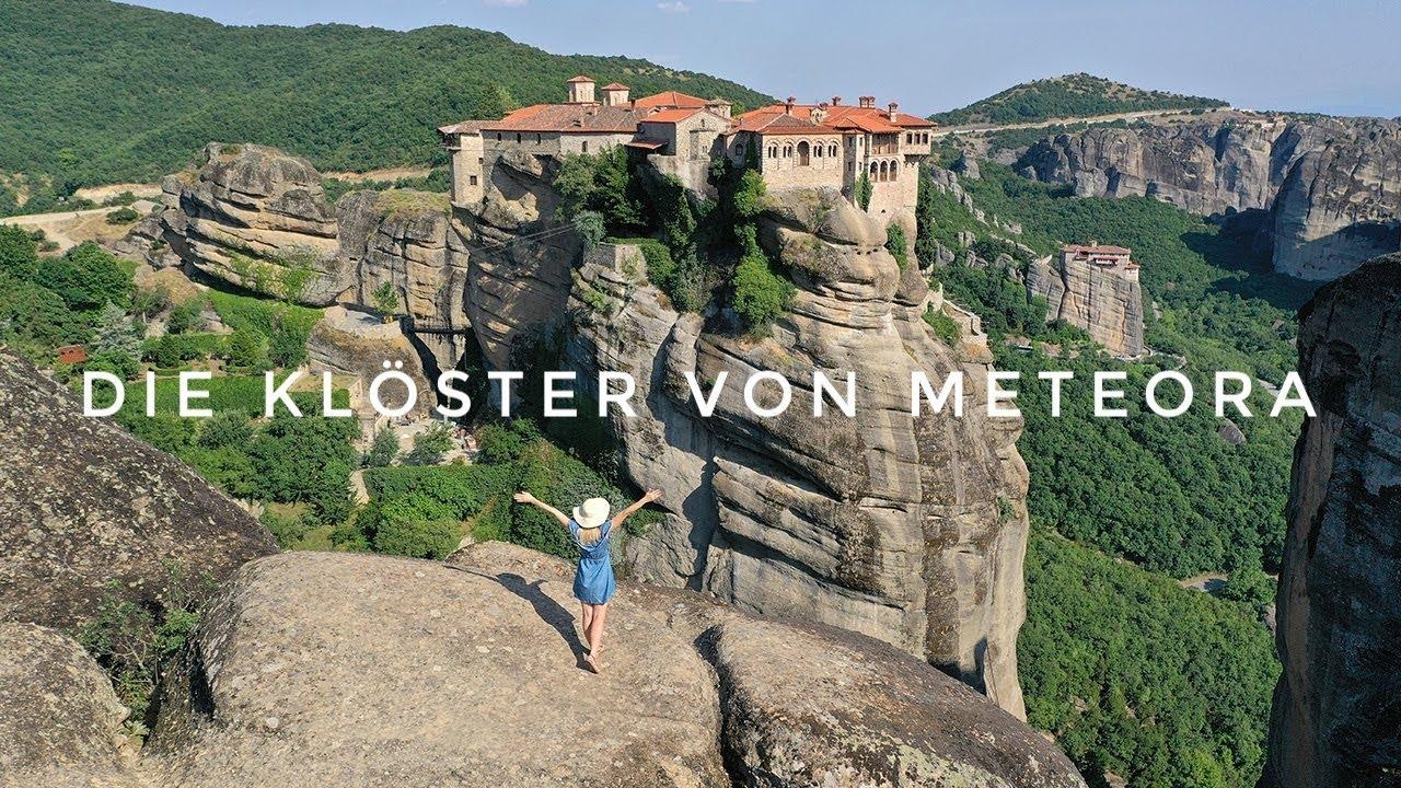 Meteora Klöster Karte.Die Meteora Klöster Tour Auf Eigene Faust Reisebericht