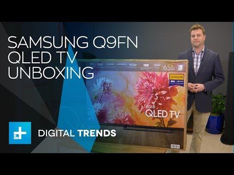 Samsung Q9F QLED TV Unboxing