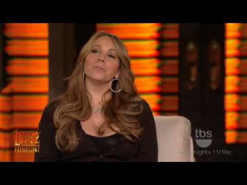 Mariah Carey Interview With George Lopez (Lopez Tonight)