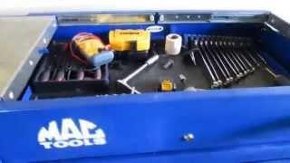 MAC Tools Rollaround Tool Cart/BOX MB197UC - Review