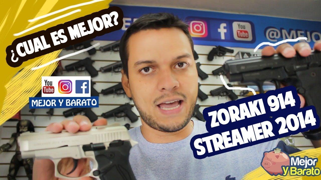Pistolas Traumaticas Diferencia entre la Zoraki 914 y Streamer 2014