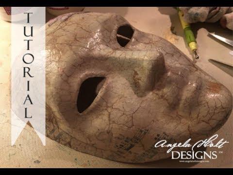 Venetian Mask Tutorial Part 1 Featuring The Magic of Venezia