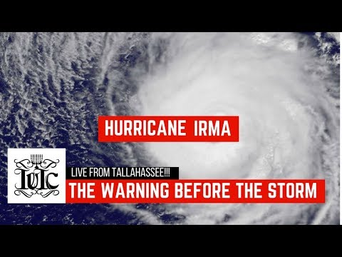 The Israelites: Hurricane Irma: The Warning Before The Storm, Live From Tallahassee!!!