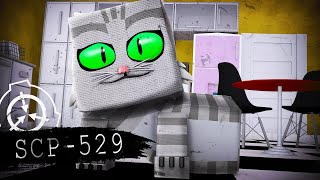"""JOSIE THE HALF-CAT"" SCP-529 