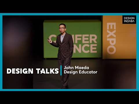 John Maeda on design thinking and creative leadership