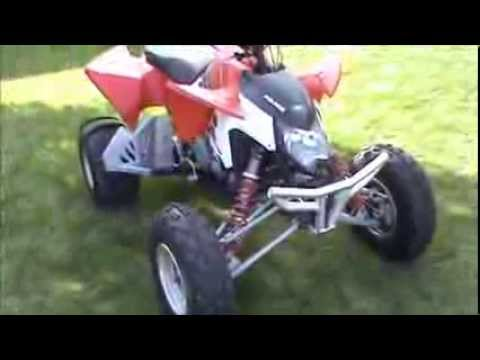 Polaris Outlaw 525 >> 2010 Polaris Outlaw 525 S with CT Racing exhaust/ Rath ...