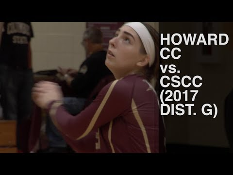 Howard CC vs Columbus State CC (2017 District G Championship, NJCAA W Volleyball)