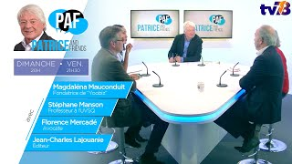 PAF – Patrice Carmouze and Friends – Emission du 20 septembre 2019